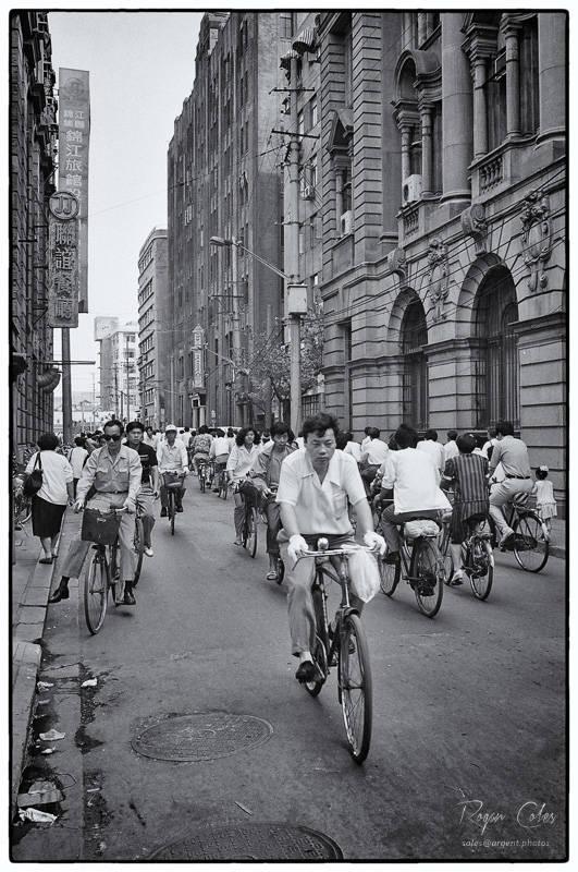 Shanghai streets - 1994