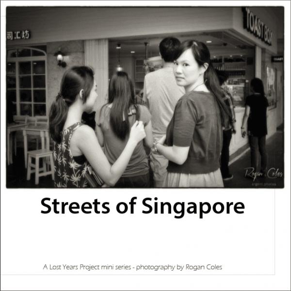Street of Singapore Photo eBook cover